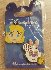 PIN Disneyland Paris SET EMOJI ALICE OE
