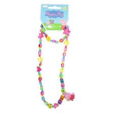 Peppa Pig Necklace and Bracelet Set for Girls I Love Peppa