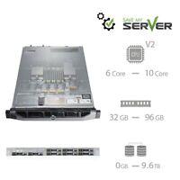 Dell PowerEdge R620 Server | Dual E5 Xeon V2 | H710 | 32GB - 96GB | SAS | Rails