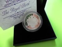 2015: Royal Birth SILVER PROOF £5 Coin: 5 Pound
