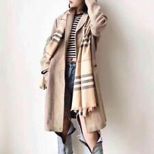2019 NEW BURBERRY SCARF CASHMERE CLASSIC BEIGE