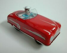 Miniature Tin Toy Friction Movement Car Made in Western Germany 1950