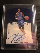 2015/16 Kevin Durant Panini Preferred Crown Royale On Card Auto Mint 3/15
