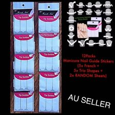 Paper French Tip Nail Art Accessories