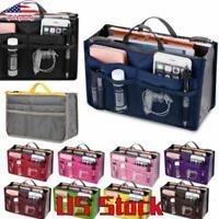 Travel Storage Bag Handbag Organiser Insert Purse Liner Tidy Business Casual US