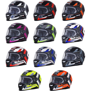 2021 AFX FX-99 Graphic Full Face Street Motorcycle Helmet Pick Size & Color
