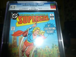 DARING NEW ADVENTURES OF SUPERGIRL 1 CGC 9.2 WHITE PAGES