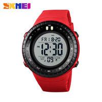 skmei men's sports watch countdown man digital wristwatch outdoor chrono 1420 E