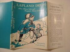 Lapland Drum, Alice Lide, Ursula Koering, Dust Jacket Only