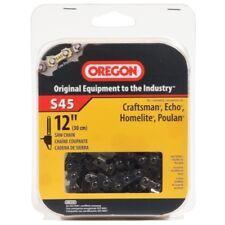 "Oregon 12"" Semi Chisel Chain Saw Chain Fits Craftsman, McCulloch, Poulan S45"