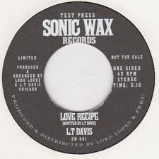 Lt Davis (demo) Love Recipe (promo) Sonic Wax 001 DEMO Soul Northern Motown