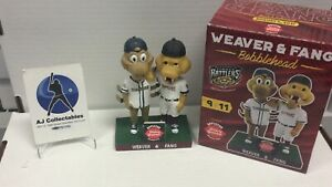 Nib Weaver And Fang Wis Timber Rattler Bobblehead Milwaukee Brewers
