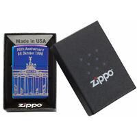 ZIPPO 30th Anniversary 03. Oktober Berlin Feuerzeug Limited Editon - 60005137