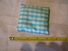 "Vintage Bean Bag Toss Tic Tac Toe Across Gingham Replacement part 3"" Square"