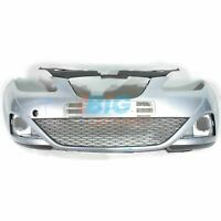 GENUINE SEAT IBIZA FRONT BUMPER 2009-2013 + LOWER GRILL SKIRT 6J0807221 SILVER