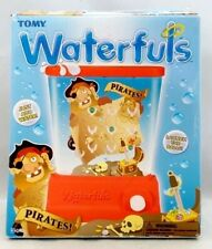 Tomy WATERFULS Wizard Classic Hand Held Water Games PIRATES! TIC-TAC-TOE