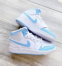 Custom Blue air jordan 1 mid