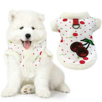 Pet Clothes Winter Cat Dog Vest Small Dog Sequined Coat Puppy Clothing Costume