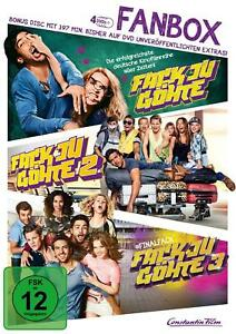 Fack Ju Göhte 1-3 - Fan Box (inkl. Bonus-Disc) [4 DVDs] NEU