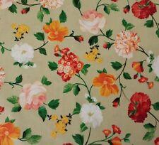 Bosque Floral Turquesa Aqua Quilters Tela de algodón por yarda por Studio