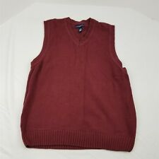 Ivy Crew Classics Men's Sleeveless V Neck Sweater Vest Size Large