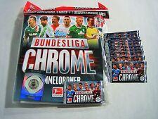 TOPPS Bundesliga Chrome 13/14 Starterpack + 10 Booster Sammelmappe OVP 2013 2014