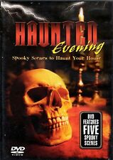HAUNTED EVENING SPOOKY SCENES & SOUNDS TO HAUNT YOUR HOUSE VIRTUAL HALLOWEEN DVD