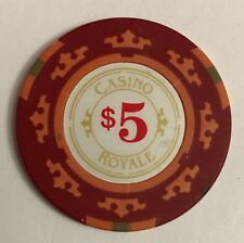 James Bond 007 Casino Royale $5 Chip Craig Poker Jeton