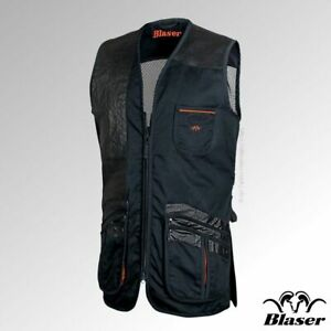 Blaser Jan Shooting Mesh Back Skeet Vest Right handed Navy Clay Pigeon