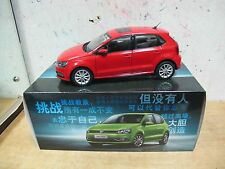 VW Volkswagen Polo MK5 facelift 1/18 model car