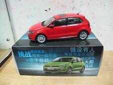 VW Volkswagen Polo MK5 facelift 1/18 model car free shipping