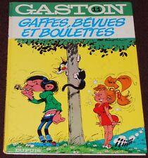 Gaston -12- / Le gang des gaffeurs / Re 1975/ BE+