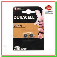 2 Batterie Pile DURACELL LR44 A76 V13GA RW82 303/357-1W 904 G13 LR1154 AG13