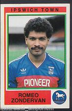 Panini Football 1985 Sticker - No 96 - Ipswich Town - Romeo Zondervan