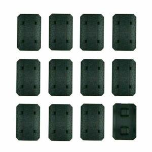 12PCS Tactical M-LOK Rail Cover Low Profile Rail Hand Protector Accessories