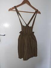 Girls Zara Dungaree Dress Age 8