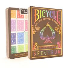 Spectrum Bicycle Cards - Full Rainbow Coloured Bicycle Deck - Spectrum Deck