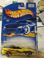 Hot Wheels '95 Camaro Convertible #141 Yellow