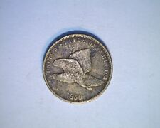1858 US Flying Eagle, 1 cent, Circ High Grade, Copper/nickel (US-5902)