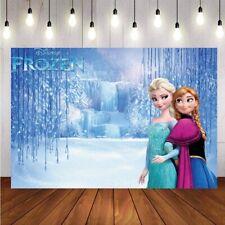 Princess Photography Backdrop Girls Birthday Party Kids Photo Background Decor