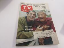 VINTAGE - TV GUIDE - 7/16/1966 - FRED McMURRAY, MY THREE SONS - COVER