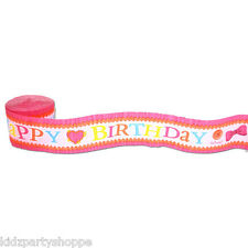 LALALOOPSY CREPE Paper Streamers Birthday Party Supplies Decorations