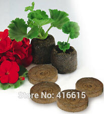 Jiffy Peat Pellets 90pcs 25mm Seed Starting Plugs Starter Pallet Soil Block Pots