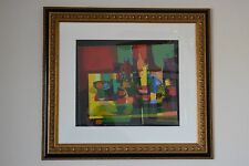 Marcel Mouly Signed and Numbered Lithograph LE TABLE en DESORDRE with COA