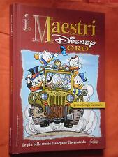MAESTRI DISNEY- SERIE ORO- cartonato- SPECIALE GIORGIO CAVAZZANO-edizioni disney