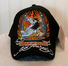 NWT Ed Hardy Dead or Alive Boys/Youth Adjustable Baseball Hat/Cap Black MSRP$28