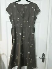"""White Stuff linen blend dress with ties size 36"""""""
