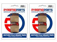 Front Brake Pads (2 Pairs) for Yamaha YFM 350 FWB L LC Big Bear 1999