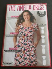 The Amelia Dress Simply Sewing Pattern Uncut sizes 6-20