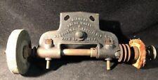 Antique 1880 Diamond Emery Wheel & Machine Co Grinding & Polishing Wheel